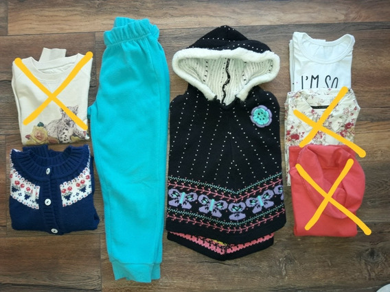 Lote Ropa Nena Talle 4