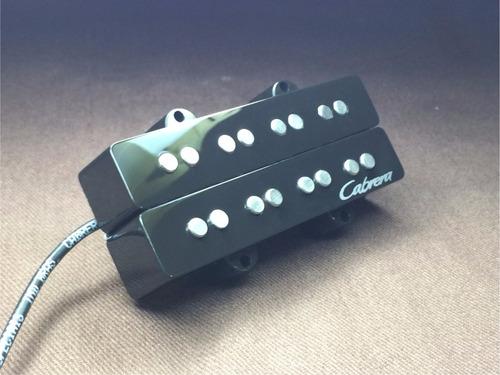 Imagem 1 de 3 de Captador Para Baixo Duplo Jazz Bass 4 Cordas Cabrera