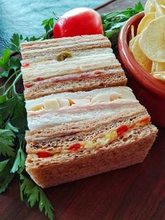 Sandwich De Miga Por Mayor. Minimo 5 Docenas