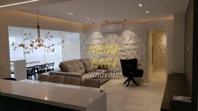 Apartamento Com 3 Dormitórios À Venda, 116 M² Por R$ 990.000 - Jardim Santa Mena - Guarulhos/sp - Ap1314