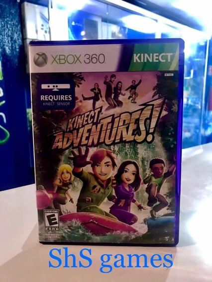 Kinect Adventures! Xbox 360 Original Mídia Física