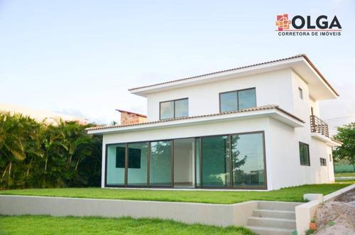 Casa Em Condomínio De Alto Padrão - Gravatá/pe - Vl0536