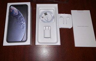 iPhone Xr 128gb Negro, Liberado, Accesorios, Caja, $12499