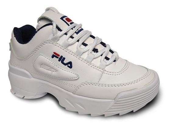 Zapato Casual Fila Dama Botas Gomas