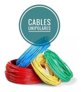 Cable Unipolar 2.5mm Normalizado X 3 Rollos De 100 Mts