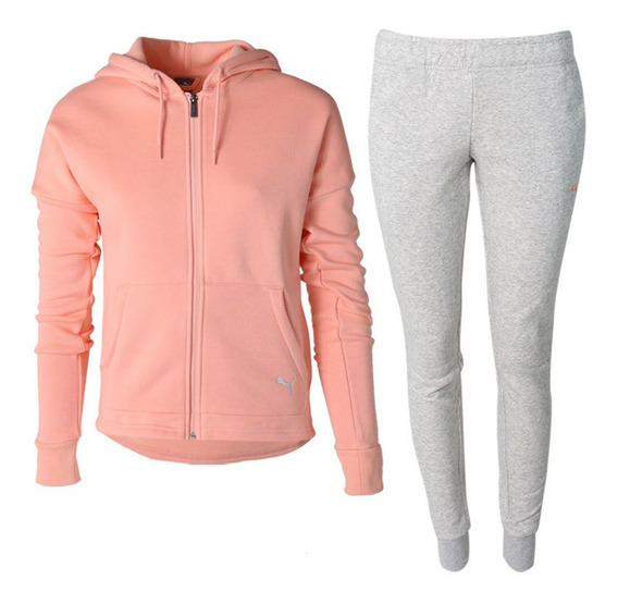 Conjunto Deportivo Puma Clean Sweat Suit Cl - 854100/19