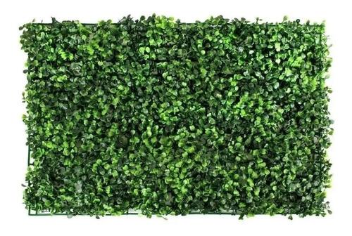 Imagen 1 de 9 de 10pzs Follaje Artificial Sintetico Para Muro Verde 60x40cm!!