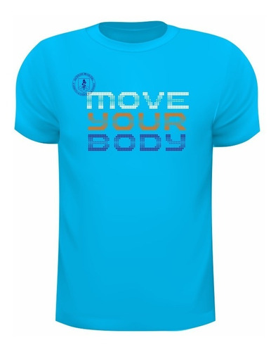 Camiseta Dry Fit De Poliamida  Com Uv50+ Move Your Body