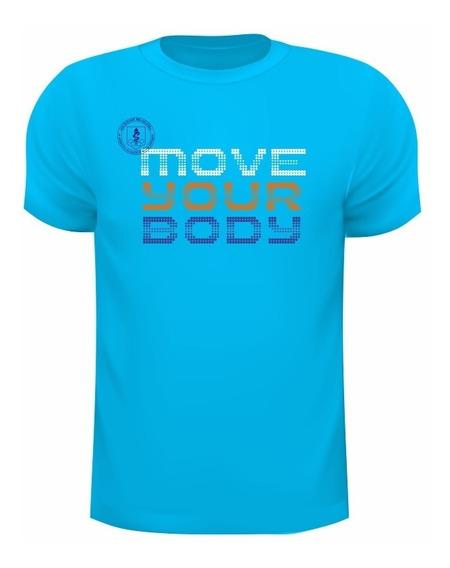 Camiseta Dry Fit De Poliamida Com Uv50+ Move Your Body