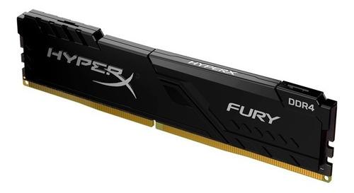 Memoria Ram 4gb Hyperx Fury Black Ddr4 2666mhz