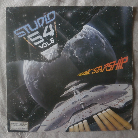 Lp Studio 54 Vol.6, Eurodisco 1983 Music Starship, Importado