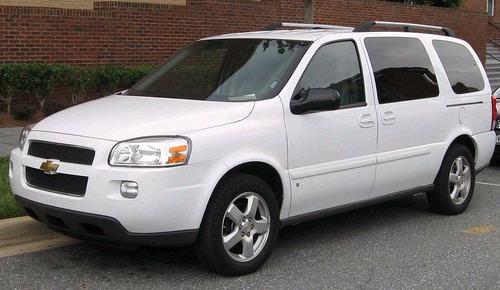Manual De Despiece Chevrolet Uplander (2005-2008) Español