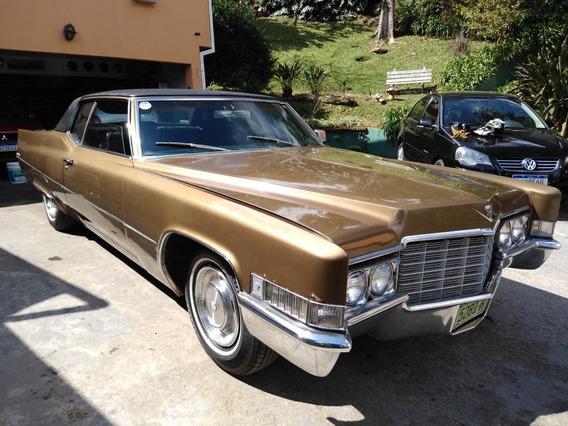 Cadillac Coupê Deville Placa Preta