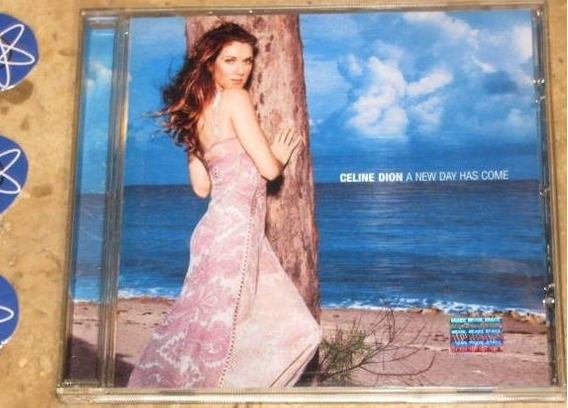 Cd Celine Dion - New Day Has Come (2002)
