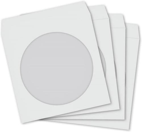 Imagem 1 de 8 de Caixa 1000 Envelopes Para Dvd E Cd Com Visor Transparente