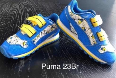 Tênis Infantil adidas, Puma, Zara, Turma Da Mônica 23br