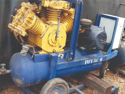 Imagem 1 de 7 de Compressor De Ar Nortorf - 100 Pcm - 2729