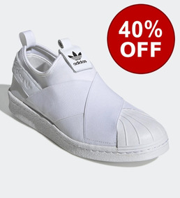 Tenis adidas Superstar Slip On Unissex Original Na Caixa!