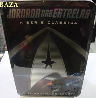 Lata : Jornada Nas Estrelas Série Clássica Completa 23 Dvds