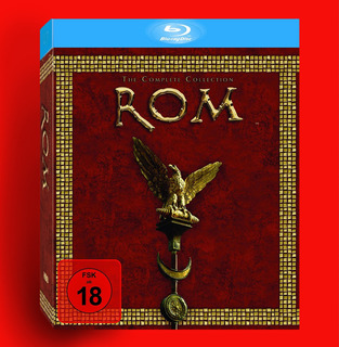 Box Blu-ray Roma Série Completa Original Importado!