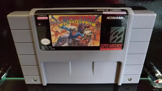 Sunset Riders Super Nintendo Pronta Entrega
