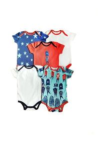 Set Pañaleros Algodón Carters Ropa Bebé Niño Y Niña Conjunto