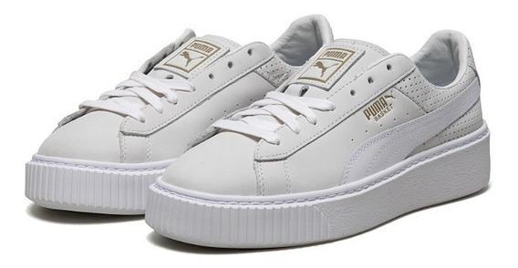Tênis Puma Hianna Importado Shoes White Original
