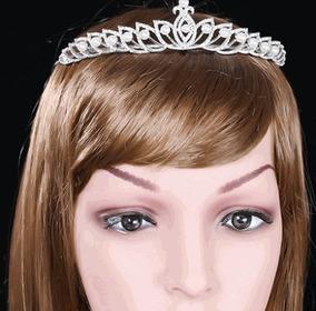 Coroa Tiara Enfeit Cabelo Princesa Casamento Noiva Debutante