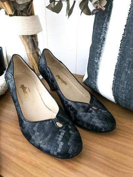 Zapato Perugia Talle 38 Y 1/2 - Usados