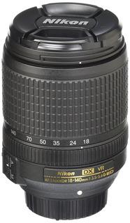 Nikon Objetivo Af-s Dx Nikkor 18-140mm F/3.5-5.6g Ed Vibr