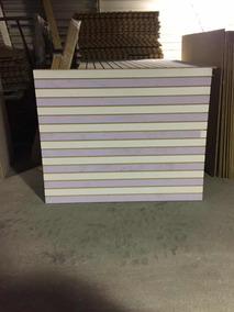 Exhibipanel - Panel Ranurado / Tablones 1.50 X 1.20cm