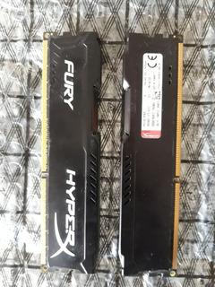 Memoria Ram Ddr3 Hyperx Fury 8gb 1600hgz I5 I7 Pc