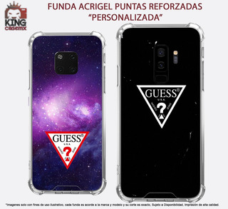 Funda Acrigel Guess Lujo Galaxy J4 J6 Prime J4 J6 Plus M10