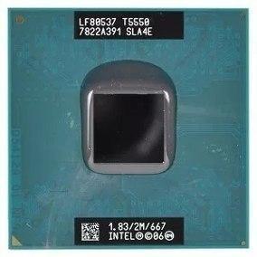 Processador Intel Core 2 Duo T5550 1.83ghz 2m Sla4e