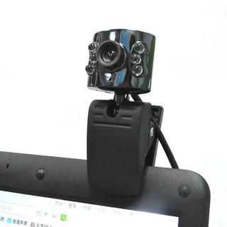 Camara Web Cam C/ Microfono 2 Mega Pixels Luz 6 Leds Usb 2.0