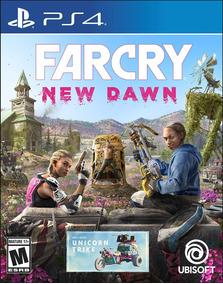 Far Cry New Dawn - Ps4 - Midia Fisica! Pronta Entrega!