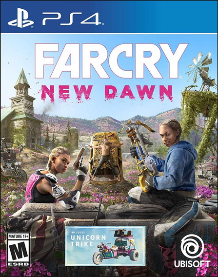 Far Cry New Dawn - Ps4 - Midia Fisica! Pronta Entrega!