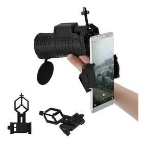 Suporte Adaptador De Celular P/ Telescópio,luneta, Monoculo,