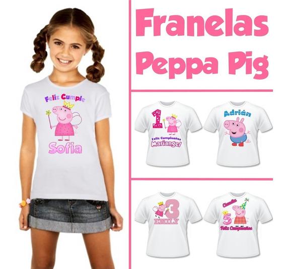 Franelas De Peppa Pig