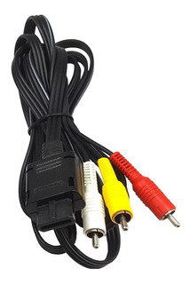 Cable Rca Audio Video Original Para Consola Nintendo 64