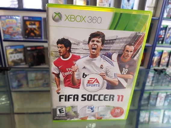 Fifa 11 Usado Original Nstc Xbox 360 Midia Fisica.