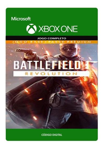 Battlefield 1 Revolution Bf1 Xbox One - Código 25 Dígitos