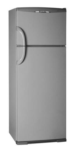 Heladera Columbia 2334/H  plata con freezer 317L 220V
