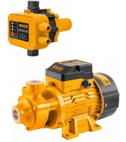 Imagen 1 de 6 de Kit Bomba Periferica 1/2 + Presurizador Automático 2hp Press