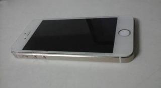 iPhone 5s Branco , Com Prata Usado Apenas 3 Meses Com Garant