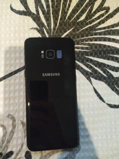 Samsung Galaxy S8 Plus Trincado Funcionando Perfeitamente