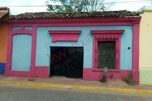Terreno Para Construcción De Casa Estilo Colonial En El Pueblo Mágico De El Rosario.