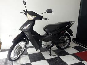 Honda Biz 125 Ks 2010 Preta Tebi Motos