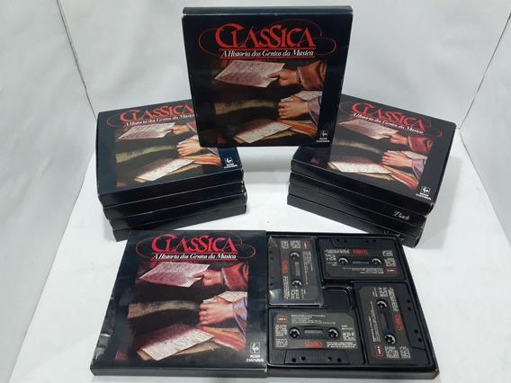 Fitas K7/clássica/ano 1988/10 Box/40 Fitas(fotos)por Apenas
