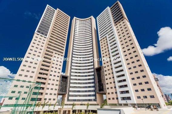 Cobertura Para Venda Em Natal, Candelária - Residencial Porto Arena, 3 Dormitórios, 1 Suíte, 3 Banheiros, 2 Vagas - Cob0994-cobertura Porto Arena